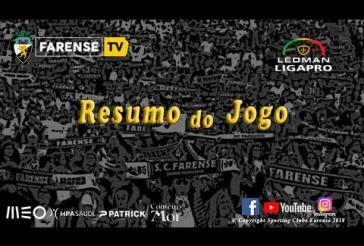 SC Farense 2-2 Vitória SC B Golos:  0-1 Rosier 19m ⚽️ 0-2 Tapsoba 43m (gp) ⚽️;⚽️ 1-2  Jorge Ribeiro 50m (gp);  ⚽️ 2-2