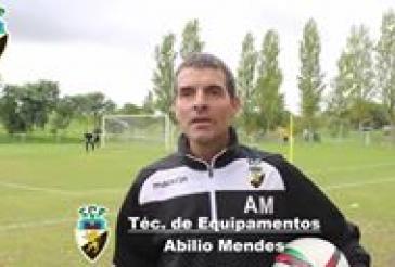 Alguns momentos de preparação do jogo contra o Guimarães B, com as entrevistas do nosso tecnico e atleta Bruno Loureiro.
