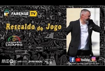 Sala de Imprensa - Rescaldo do encontro SC Farense 2-2 FC Arouca