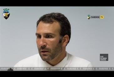 Sala de Imprensa - Rescaldo ao jogo - Sérgio Vieira