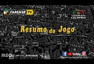 SC Farense 1-0 Cova da Piedade / ⚽️ Irobiso 76m